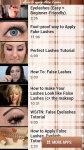 How to Apply False Lashes free screenshot 2/4