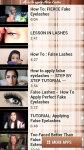 How to Apply False Lashes free screenshot 3/4