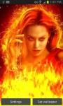 Queen of Fire Live Wallpaper free screenshot 2/3
