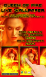 Queen of Fire Live Wallpaper free screenshot 3/3