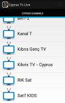 Cyprus Tv Live screenshot 2/3
