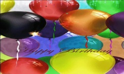 Birthday Balloon Live Wallpaper screenshot 2/3