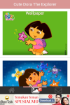 Cute Dora the Explorer Wallpaper screenshot 6/6