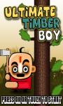 Ultimate Timber Boy screenshot 1/3