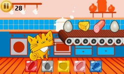 Feed The Cute Kitten - Virtual Pet screenshot 1/3