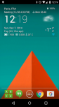 Transparante klok en weer Pro ultimate screenshot 1/4