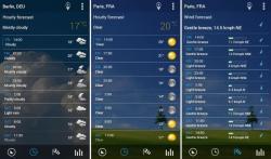 Transparante klok en weer Pro ultimate screenshot 2/4