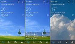 Transparante klok en weer Pro ultimate screenshot 4/4