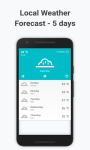 Local Weather Forecast screenshot 1/2