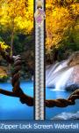 Zipper Lock Screen Waterfall screenshot 1/6