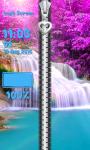 Zipper Lock Screen Waterfall screenshot 6/6