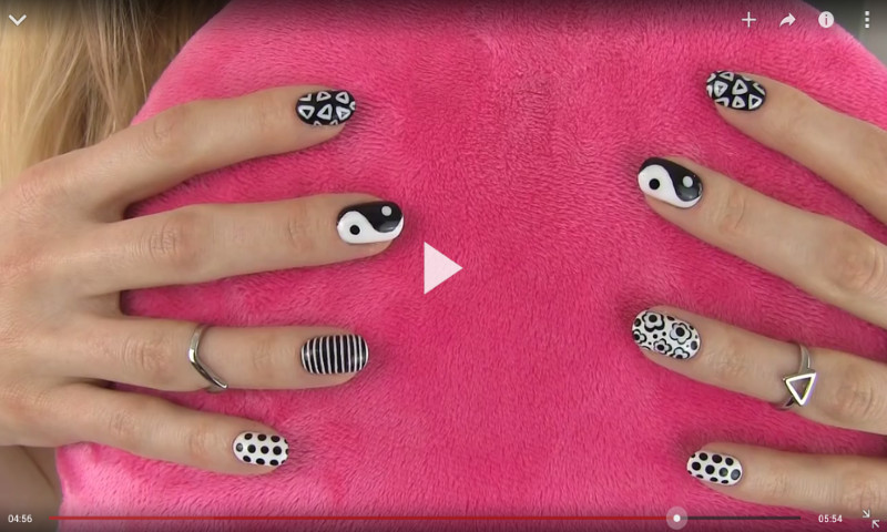 Easy Holiday Nail Art Designs Along With Holiday French Nail Designs ...