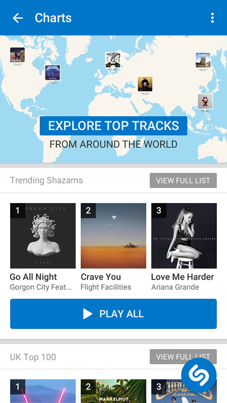 how to play shazam at home