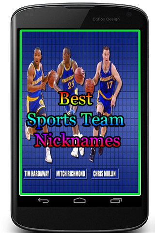 Best Sports Team Nicknames