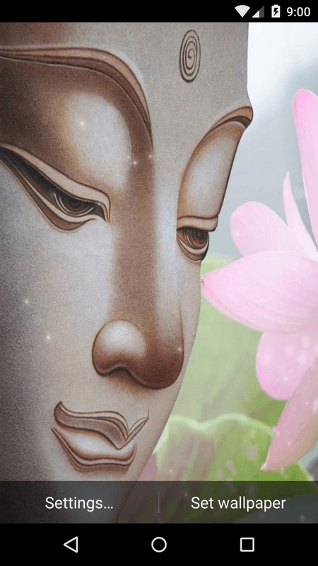 Beautiful Buddha Live Wallpaper HD